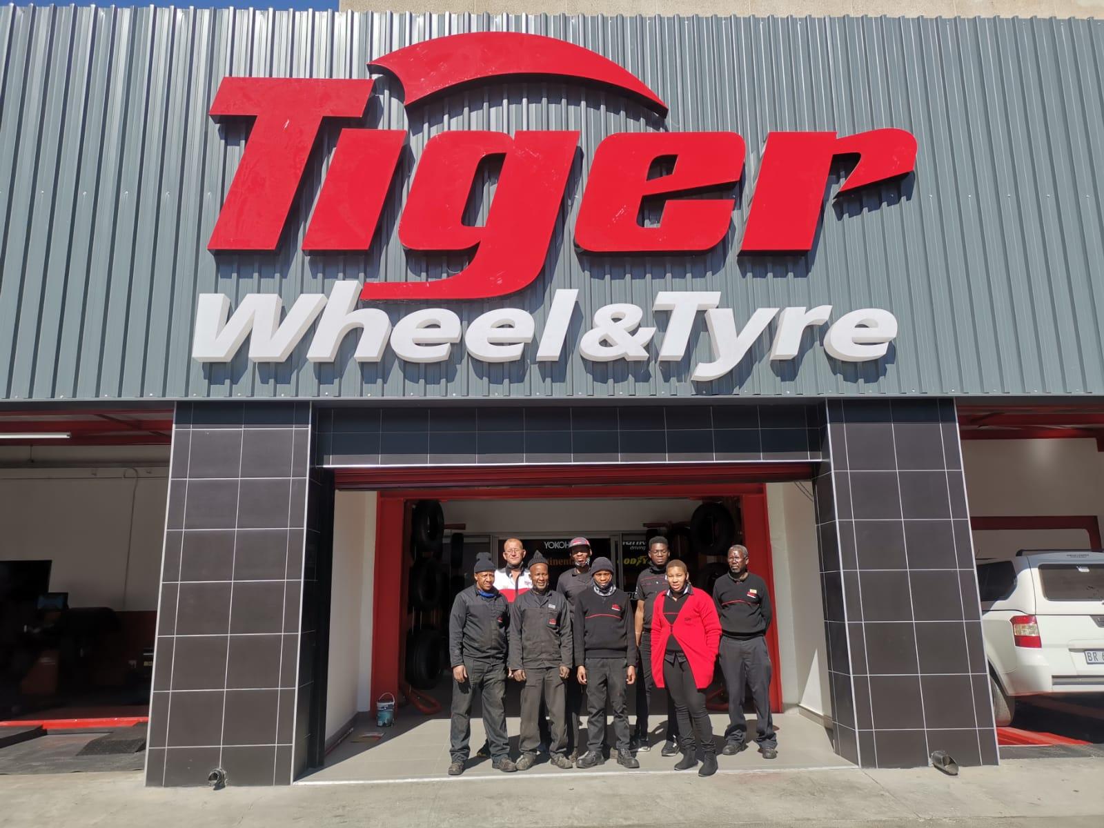 New Tiger Wheel & Tyre Opens at Killarney Mall